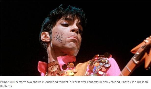 巨星不是你想看就能看 Prince演唱会禁带手机!